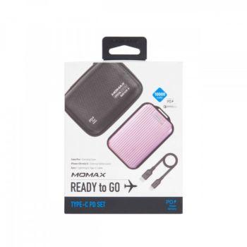 Momax ipower Go Mini 5 External Battery Pack10000 Rose gold (VPD0048)