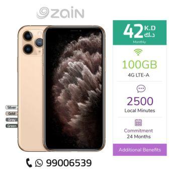 Zain - iPhone 11 Pro - 512GB