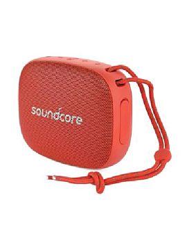 مكبر صوت ساوندكور أيكون الصغير- احمر من انكر