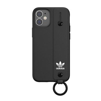 """Adidas Case For IPhone 12 Mini 5.4"""" With Hand Strap Black (42393)"""