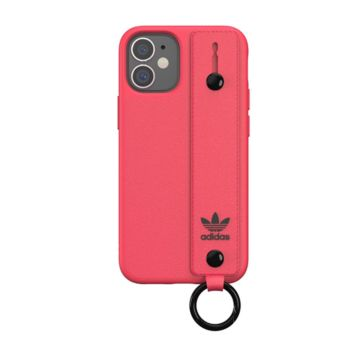 """Adidas Case For IPhone 12 Mini 5.4"""" With Hand Strap Pink (42396)"""