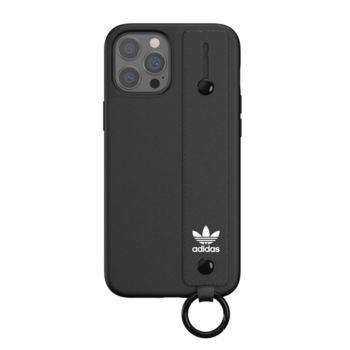 """Adidas Case For IPhone 12 Pro 6.1"""" With Hand Strap Black (42394)"""