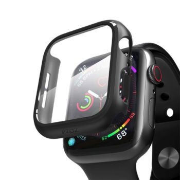 Anank Glass with Case For Apple Watch 40MM - Black (652173)