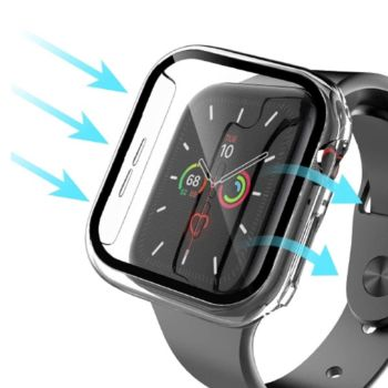 Anank Glass with Case For Apple Watch 40MM -Transparent (652197)