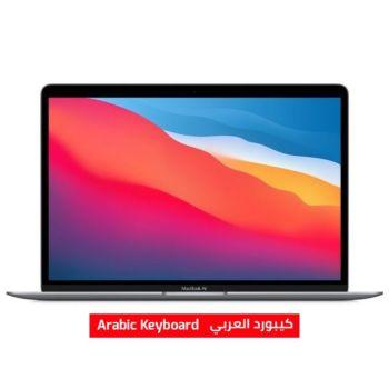 أبل ماك بوك اير شريحة ام 1 أبل 512 جيجابايت 8 جيجا رام 13 بوصة  لوحة مفاتيح عربي - رمادي