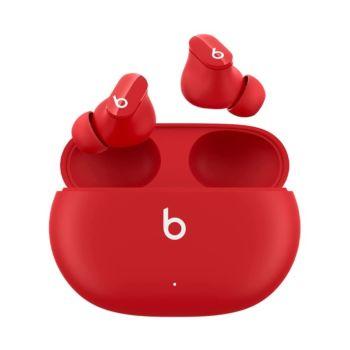 سماعات أذن ستوديو بادز لاسلكية لإلغاء الضوضاء - احمر من بيتس