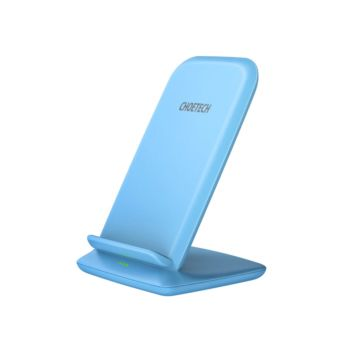 CHOETECH Fast Wireless Charging Stand Blue (T555-S)