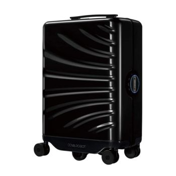 Cowarobot Auto-follow Smart Luggage Carry-on Suitcase with USB Charging Ports - Black