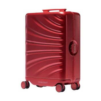 Cowarobot Auto-follow Smart Luggage Carry-on Suitcase with USB Charging Ports - Red