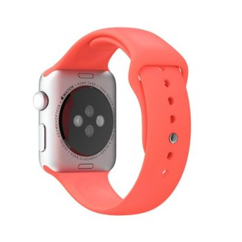 Coteetcl Silicone Watch Band 42 & 44MM For iWATCH - Red