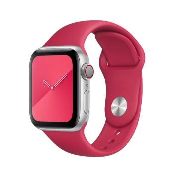 Coteetcl Silicone Watch Band 42& 44MM For iWATCH - Wine Red