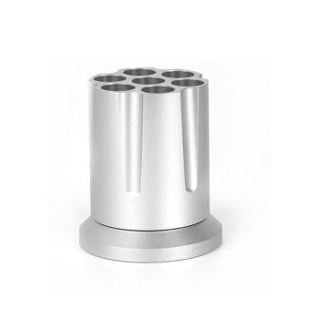 Coteetcl Aluminum Alloy Revolver Pen Holder -  (CS5122-TS ) Silver