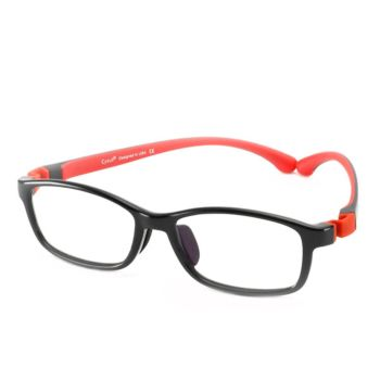 Cyxus Blue Light Blocking Glasses for Kids Black (6007T01)
