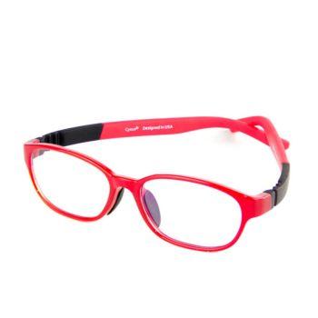 Cyxus Blue Light Blocking Glasses for Kids Red (6800T04)
