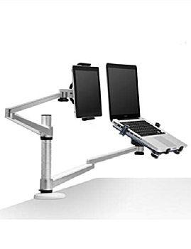 "Double Digital Desktop Clamp Mount 10-15"" and 7-10"""