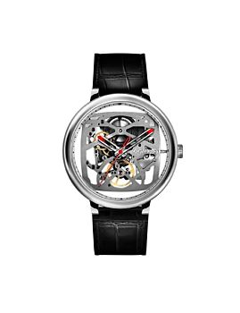 CIGA Design Fang Yuan Automatic Mechanical Skeleton Wristwatch Silver (Z021-SISI-1)