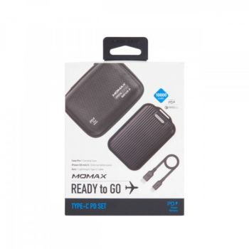 Momax 10000mAh iPower Go Mini 5 External Pack  - Black (vpd0046)