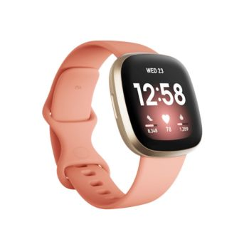 Fitbit Versa 3 Health And Fitness SmartWatch+ GPS Rose Gold (FB511GLPK)
