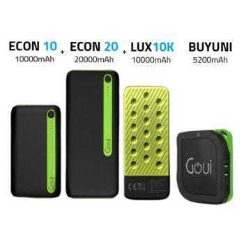 Goui Buyuni + Econ10 + Econ20 + Lux10 (G-bundle10)
