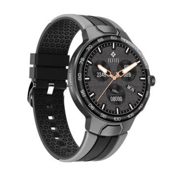 ساعة جي 60 الذكية - أسود / رمادي
