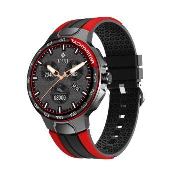 ساعة جي 60 الذكية - أسود / احمر