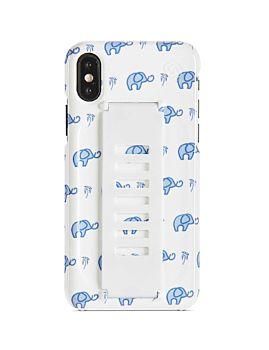 Grip2u Summer Collection Slim Case for iPhone XS Max - Elephants (GGAMAXSLBEL)
