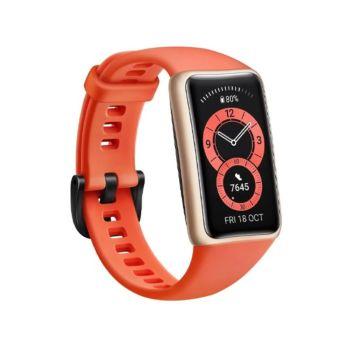 Huawei Band 6 Amber Orange - With Free Gift