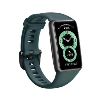 Huawei Band 6 Forest Green - With Free Gift