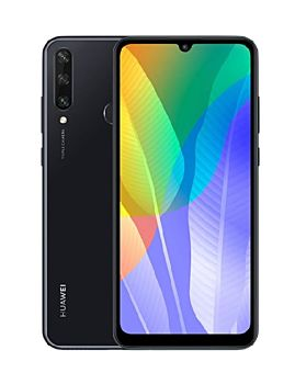 Huawei Y6P 64GB  Midnight Black - With Free Gift