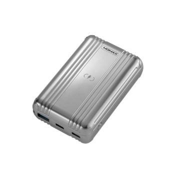 Momax Q.Power Go mini Wireless Battery Pack (10,000mAh) - Silver (IP101S)