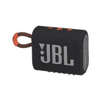 JBL GO 3 Portable Waterproof Speaker - Black Orange