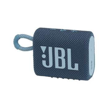 JBL GO 3 Portable Waterproof Speaker - Blue