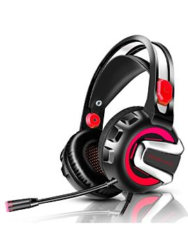 Kotion Each Pro Gaming Headset 3.5mm And USB Red (G3300)
