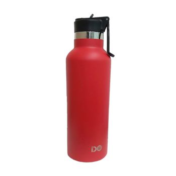 IDO Stainless Steel Vacum Bottle 600ML Red (FR-L654 R)