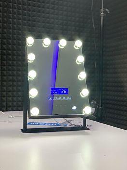 LED Mirror Speaker with Bluetooth & Display
