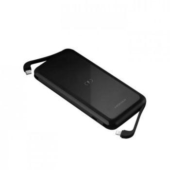 Momax Dual Wireless 10000MAH Black (IP96MFID)