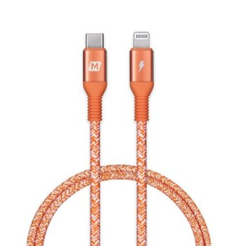 Momax 1.2M Elite Link Lightning to USB-C Cable - Red ( DL31M)