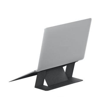 Mutural Adhesive Foldable Laptop Stand Black (MT-ZJ-1001 LAP)