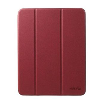 """Mutural Cover For IPad 2020 With Stand 12.9""""  Red(MT-P-01101 12.9"""" RD)"""