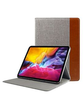 Mutural Design Case For IPad 12.9 Pro 2020 Gray Brown (MT-P-01201 12.9 GR BR)
