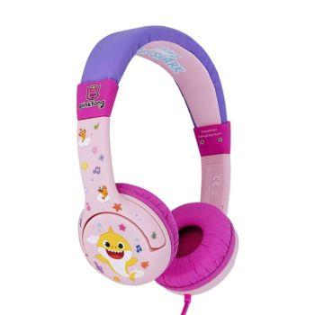 OTL Onear Junior Headphone Baby Shark Pink (OTL-BS0657)