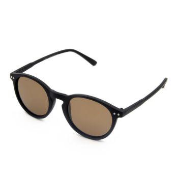 نظارة شمسية للحماية من الأشعة فوق البنفسجية للأطفال - اسود غير لامع من سايكس