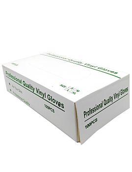 Professional Quality Vinyl Gloves 100PCS (GLOVES BOX)