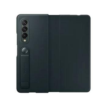 Samsung Galaxy Z Fold3 5G Leather Flip Cover - Green (EF-FF926LGEGWW)