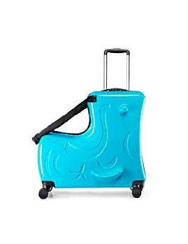 حقيبة منظم أمتعة الأطفال للركوب للسفر 20 بوصة - أزرق