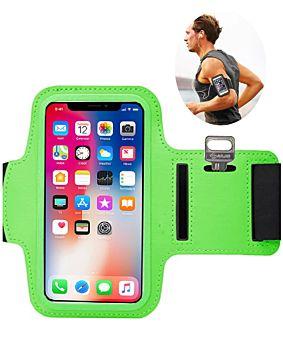 حزام الذراع الرياضي - ليكرا اخضر