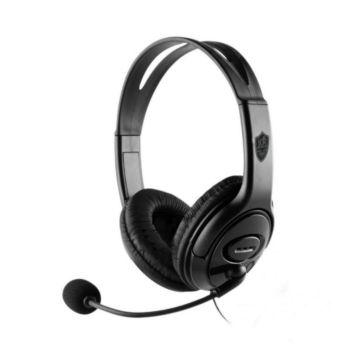 Stereo Gaming Headset Over-Ear Lightweight Black KR-GM705