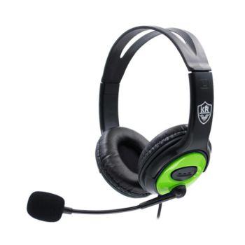 Stereo Gaming Headset Over-Ear Lightweight Green KR-GM703