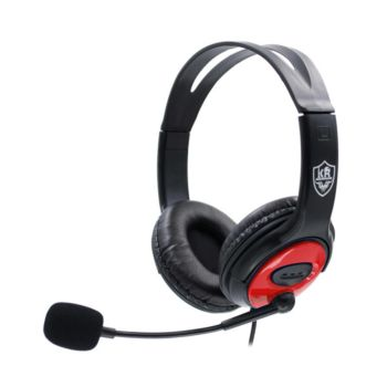 Stereo Gaming Headset Over-Ear Lightweight Red KR-GM701