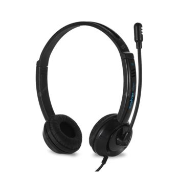 Stereo Hedset HeadPhone For Children For PC And Note Book Black (DT-326)